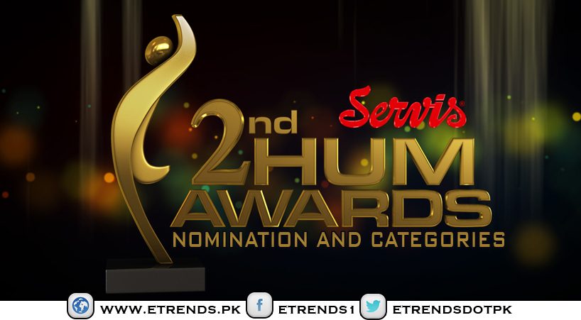 HUM Network Announce Servis Second Hum Awards Nomination and Categories