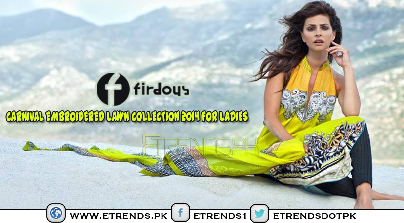 Firdous Carnival Lawn Collection 2014