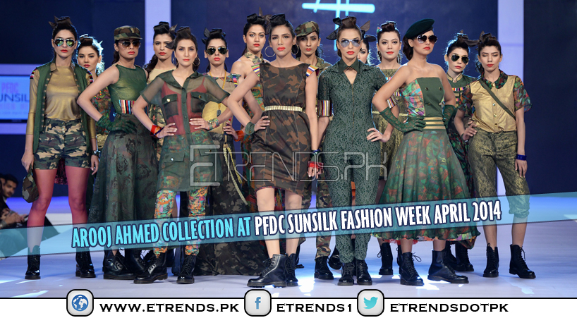 Arooj Ahmed Collection at PFDC Sunsilk Fashion Week April 2014