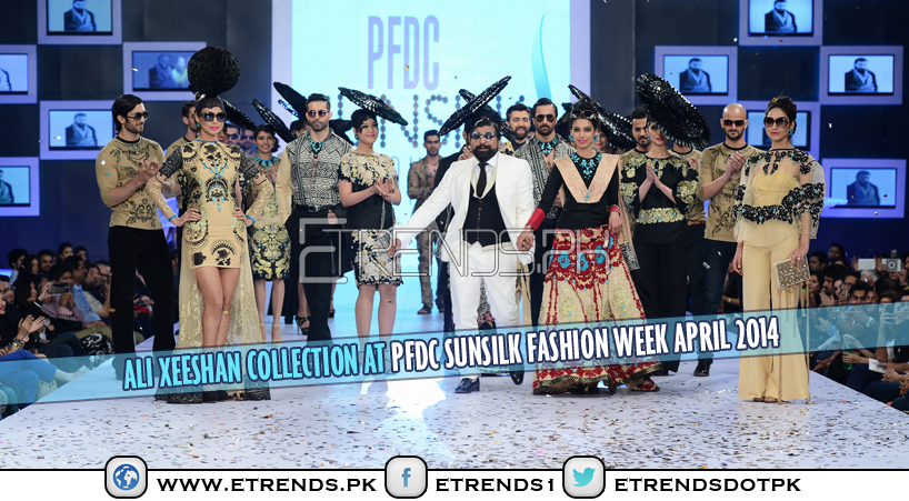 Ali Xeeshan Collection at PFDC Sunsilk Fashion Week April 2014