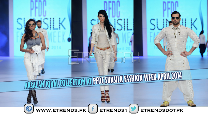 Arsalan Iqbal Collection at PFDC Sunsilk Fashion Week April 2014