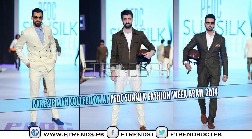 Bareeze Man Collection at PFDC Sunsilk Fashion Week April 2014