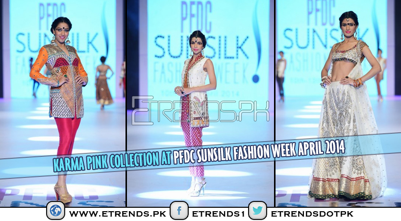 Karma Pink Collection at PFDC Sunsilk Fashion Week April 2014