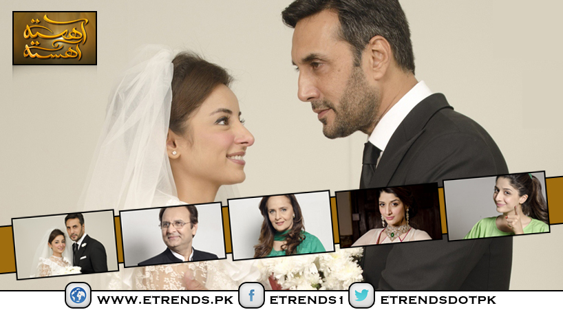 Ahista Ahista Drama Serial on HUM TV – Synopsis and Pictures