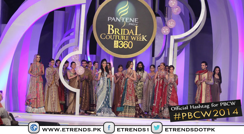 Bridal Extravaganza and Excitement Hits Karachi with Pantene Bridal Couture Week 2014