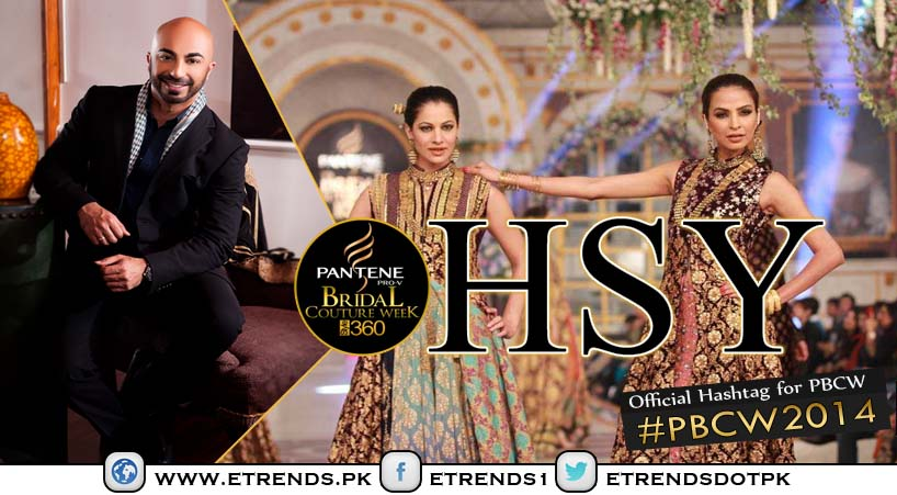 "HSY to showcase ""The Orchid"" at Pantene Bridal Couture Week 2014"