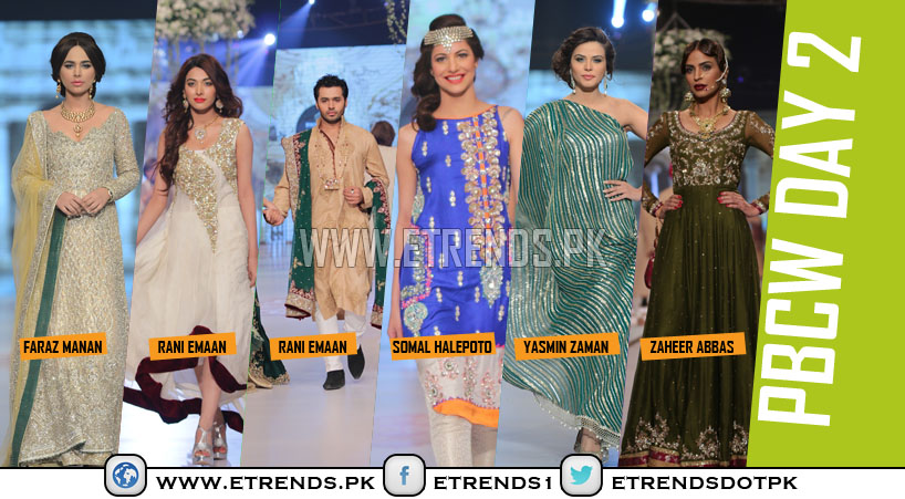 Pantene Bridal Couture Week 2014 Day 2 Pictures and Review