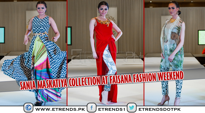 Sania Maskatiya Collection 'Kuamka Awakening' in London at Faisana Fashion Weekend