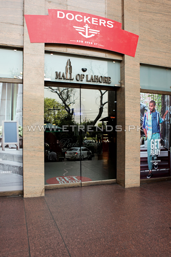 Get Ready With Dockers® At Mall of Lahore