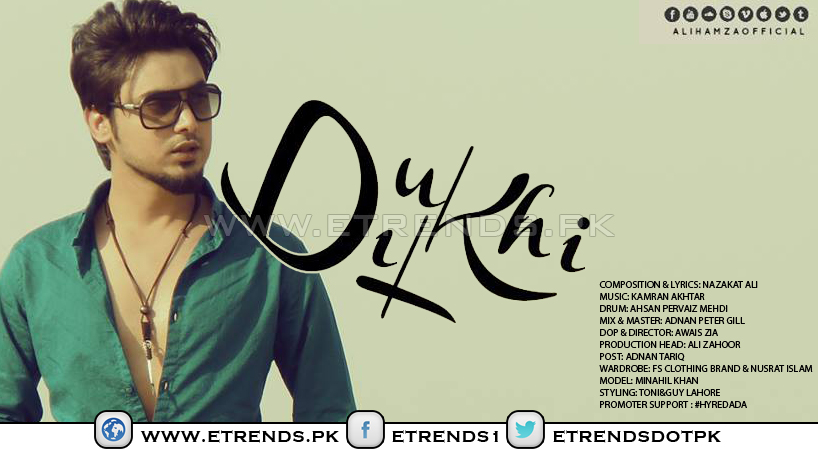 Dukhi Dil | Ali Hamza (Official Music Video)