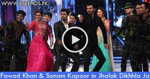 Fawad Khan & Sonam Kapoor in Jhalak Dikhhla Ja 7