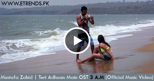 Mustafa Zahid | Teri Adhaon Main OST 3 A.M (Video)