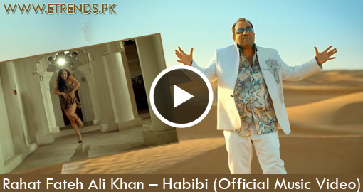 Rahat Fateh Ali Khan - Habibi ft. Salim Sulaiman (Official Music Video)