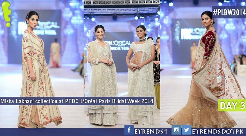 Misha Lakhani collection at PFDC L'Oréal Paris Bridal Week 2014
