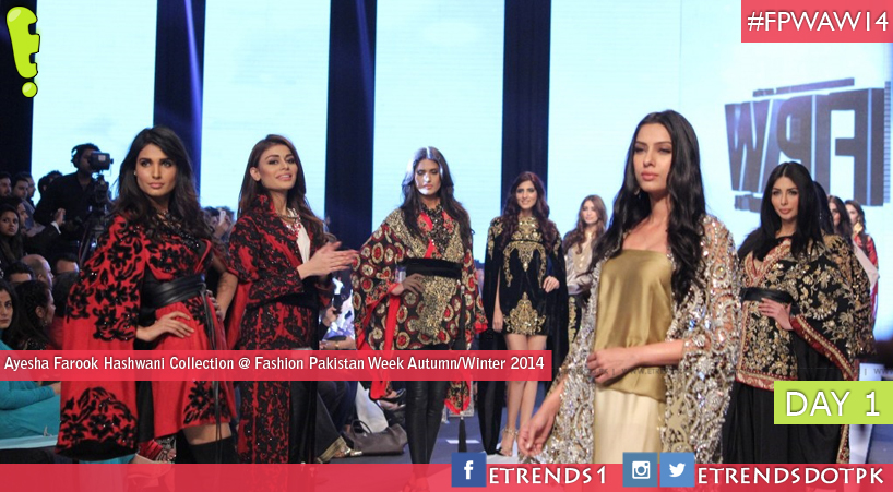 Ayesha Farook Hashwani Collection at Fashion Pakistan Week Autumn/Winter 2014