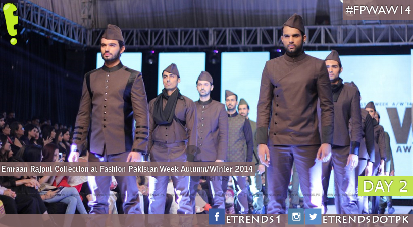 Emraan Rajput Collection at Fashion Pakistan Week Autumn/Winter 2014