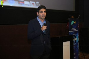Aziz Jindani, Commercial Operations Leader at P&G Pakistan addressing members of the audience_1024x683