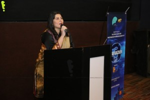 Creative Director Sharmeen Obaid-Chinoy addressing members of the audience at the Exclusive First Look of 3 Bahadur (1)_1024x683