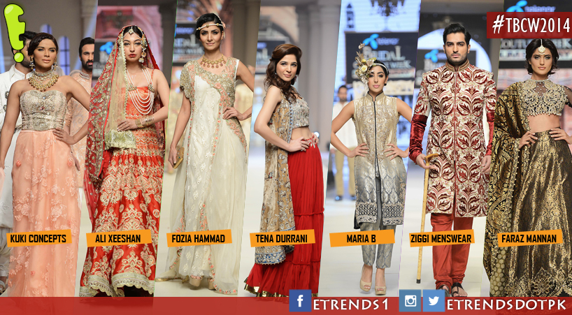 Telenor Bridal Couture Week 2014 Day 1 Pictures and Review