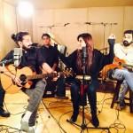 Jimmy Khan feat. Rahma Ali - BTS Images - Ajeeb Dastaan (6)