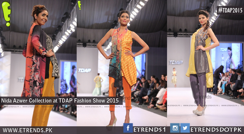 Nida Azwer Collection at TDAP Fashion Show 2015