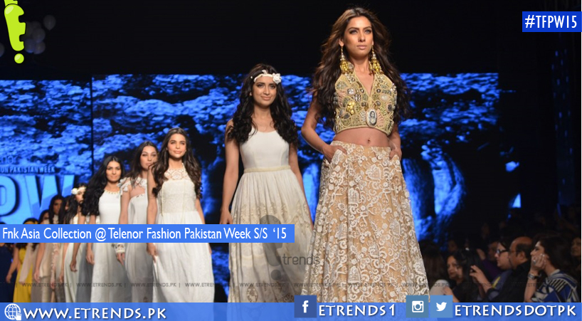 Fnk Asia Collection @ Telenor Fashion Pakistan Week S/S '15