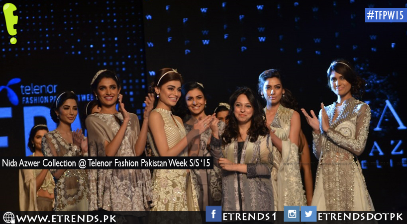 Nida Azwer Collection @ Telenor Fashion Pakistan Week S/S '15