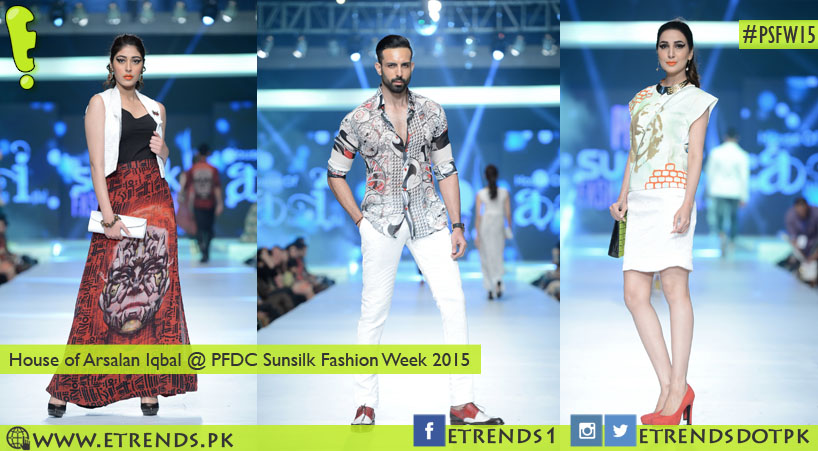 House of Arsalan Iqbal @ PFDC Sunsilk Fashion Week 2015