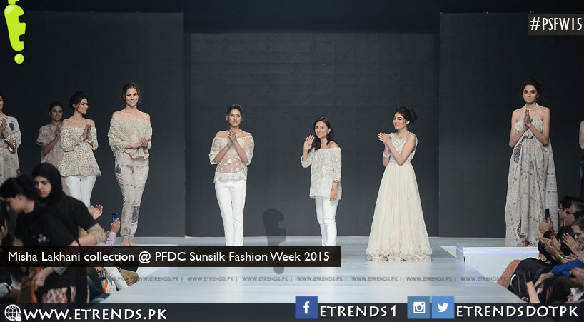 Misha Lakhani collection @ PFDC Sunsilk Fashion Week 2015