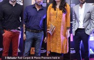 3 Bahadur Red Carpet & Movie Premiere held in  Nueplex Cinema, Karachi