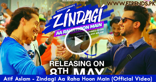 Atif Aslam - Zindagi Aa Raha Hoon Main (Official Video)
