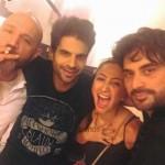 Adnan Malik, Anoushay Ashraf and Humayun Saeed