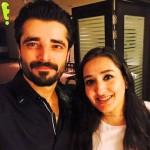 Hamza Ali Abbasi with Sabeen Sultan