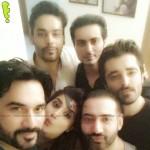 Humayun Saeed, Sohai Ali Abro, Hamza Ali Abbassi, Goher Rasheed and Bilal Lashari
