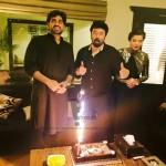 Humayun Saeed, Yasir Nawaz and Nida Yasir