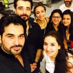 Humayun's selfie with guests