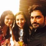 Maria Wasti, Humayun Saeed and guest