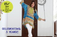 Misha Lakhani celebrates the brands 3rd year anniversary!