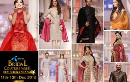 Hum Network announced designer line-up for its 11th Telenor Bridal Couture Week 2015