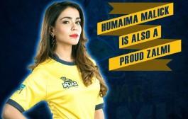 Humaima Malik strikes in a 'Zalmi ' style