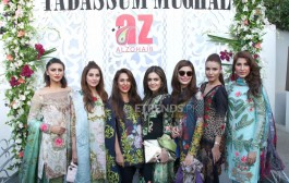 Launch of Tabassum Mughal Spring Summer Collection 2016 by Al-Zohaib Textiles