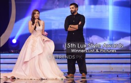 Winner's List and Pictures of 15th Lux Style Awards 2016
