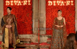"DIVA'NI Pakistan presented ""Bagh-e-Bahar"", the brand's Couture 2016 Collection in Lahore"
