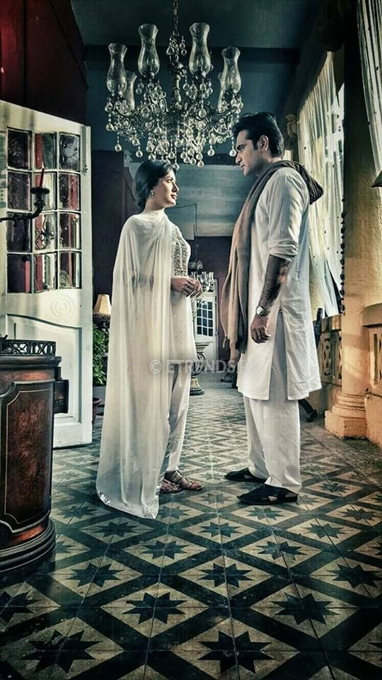 humayun-saeed-and-mehwish-hayat-in-a-scene-from-dillagi
