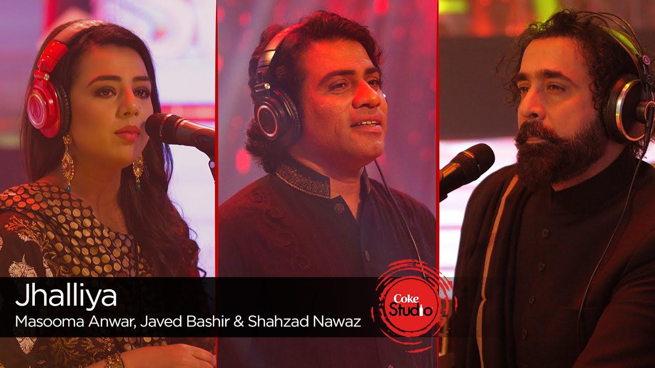 Javed bashir, masooma anwar & shahzad nawaz – jhalliya (coke.
