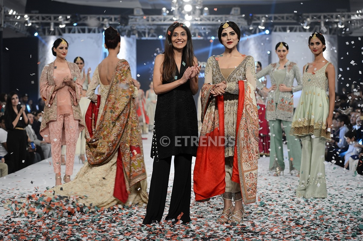 Shamsha Hashwani collection at PFDC L'Oréal Paris Bridal Week 2016