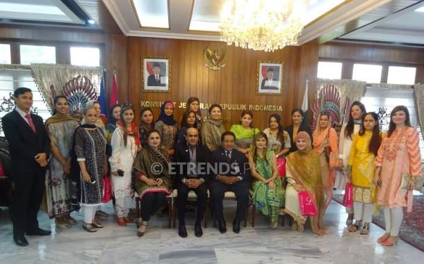 Indonesian Consul General discusses trade with LADIESFUND women entrepreneurs