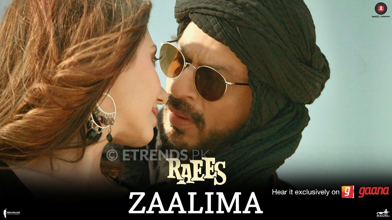 Arijit Singh & Harshdeep Kaur Zaalima OST Raees starring Shah Rukh Khan & Mahira Khan