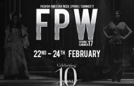 Fashion Pakistan Week SPRING/SUMMER 2017 Dates Announced