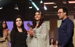 Ayesha & Usman Qamar Collection at Hum Bridal Couture Week 2017